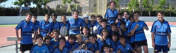 El Rugby Rugby Camp estuvo muy presente en el IV torneo Ibérico de escuelas de Rugby