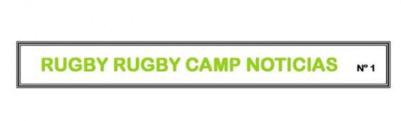 Boletín nº 1 del Rugby Rugby Camp