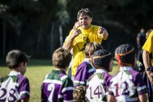 Staff campamento verano rugby