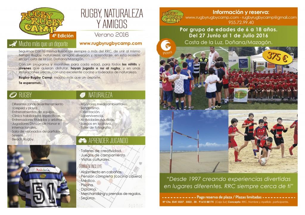 Campamento de Verano Rugby Rugby Camp 2016