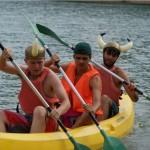 campamento de verano canoas