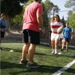 entrenamiento de verano campamento