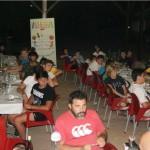 cena campamento de verano