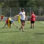 Entrenamiento Rugby campamento verano