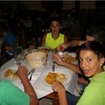 Comida campamento de verano