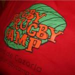 Camiseta campamento de verano rugby