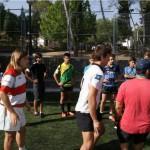 niñas rugby campamento de verano