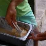 helado campamento de verano