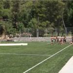 amigos campamento de verano rugby