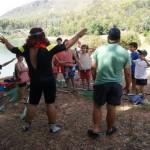 DIversión campamento de verano rugby