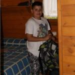 cabañas campamento de verano