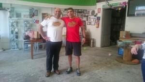 Visita a Málaga Rugby campamento de verano