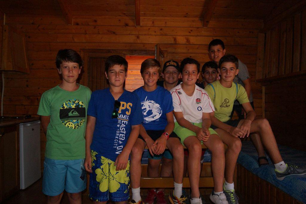 Amigos en nuestro campamento de verano
