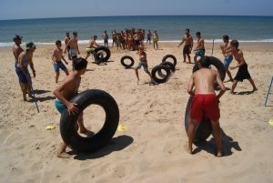campamento rugby